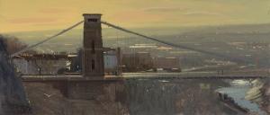 Clifton Suspension Bridge, contre jour, January_2